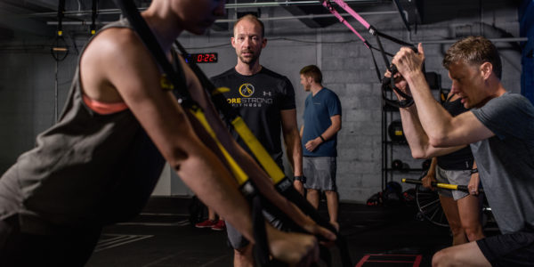 TRX Functional Conditioning class