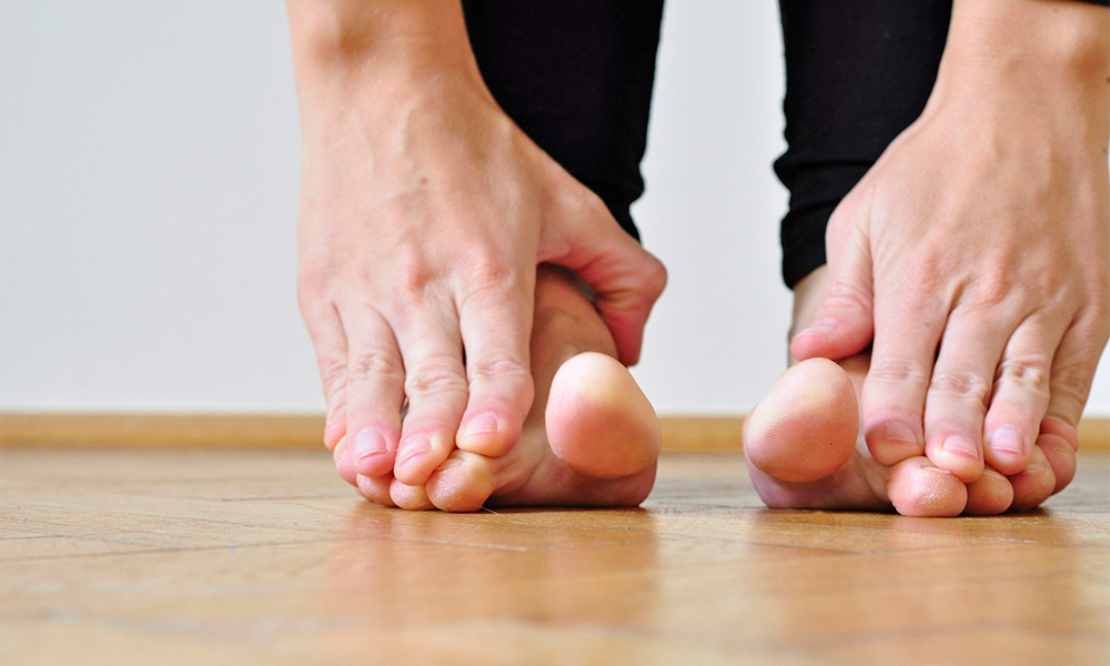 foot strengthening exercises for low back pain