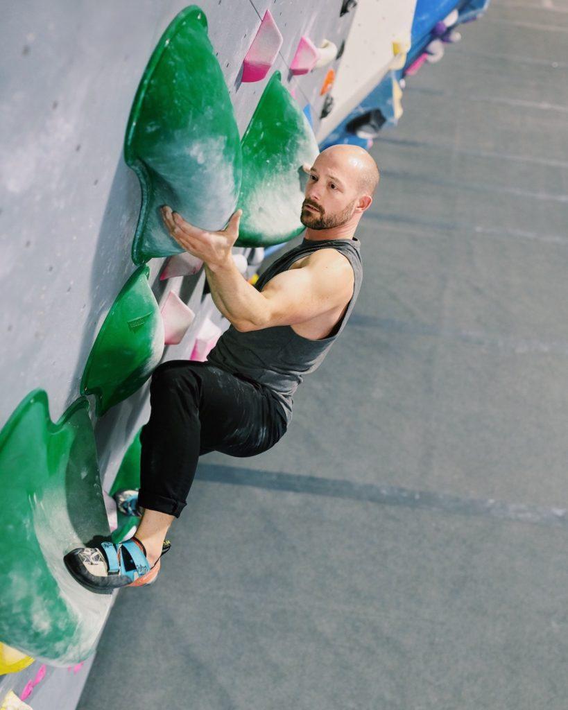 Kansas City climbing coach mark campbell