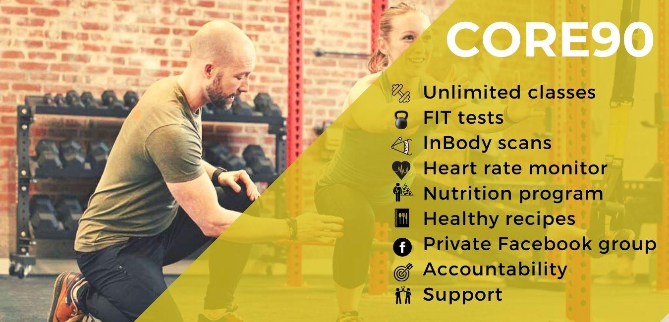 Core90 Benefits